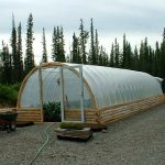 This greenhouse in Tok, Alaska helps provide fresh produce for area residents.